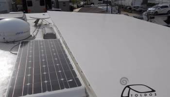 Pérgolas con sistema de energía solar