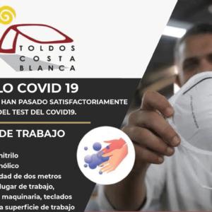 protocolo covid toldoscostablanca